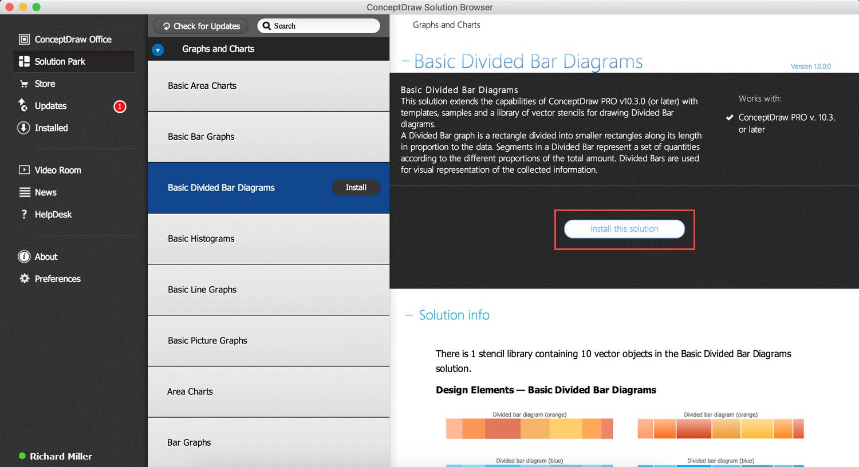 Basic Divided Bar Diagrams Solution — Install
