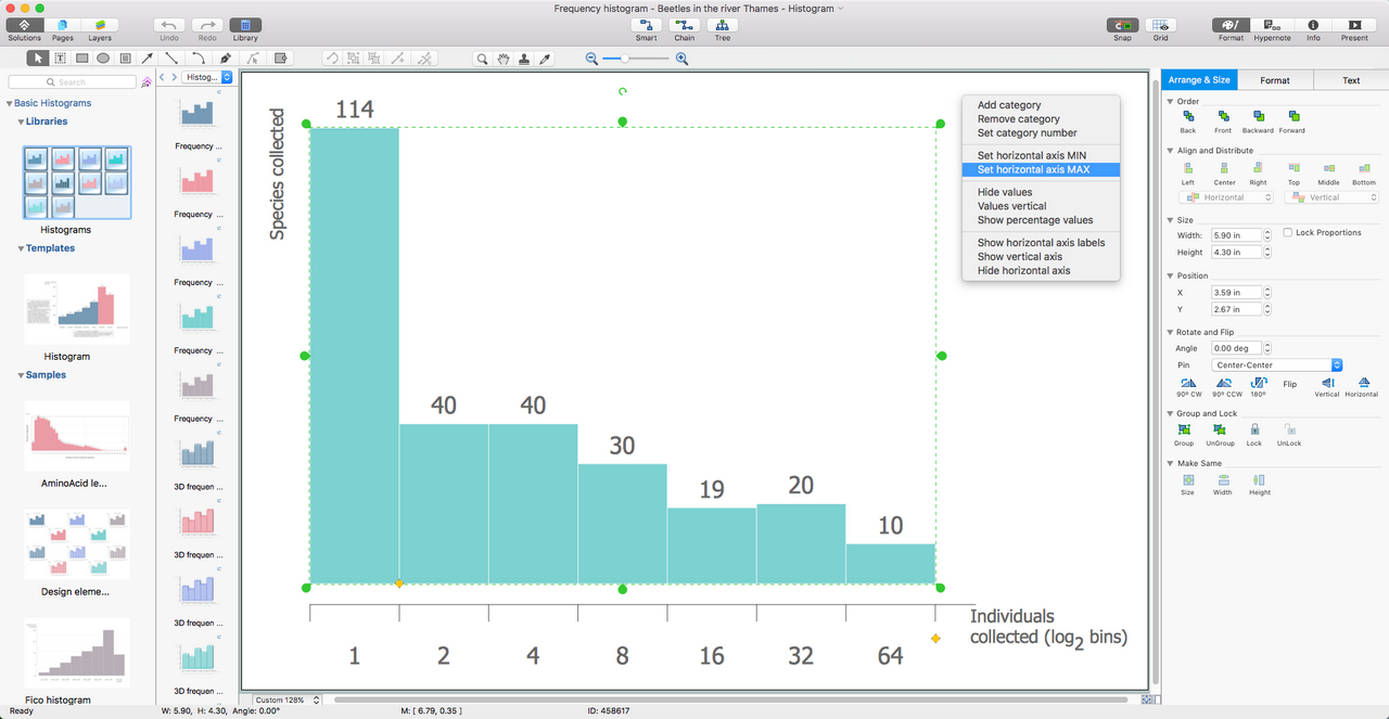 Basic Histograms Solution for macOS X