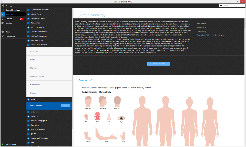 Human Anatomy solution - Buy