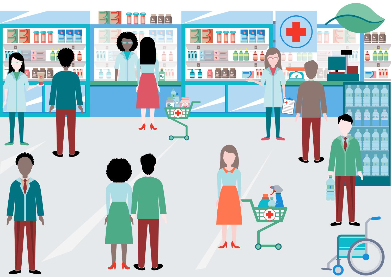 Pharmacy Clipart - Drugstore