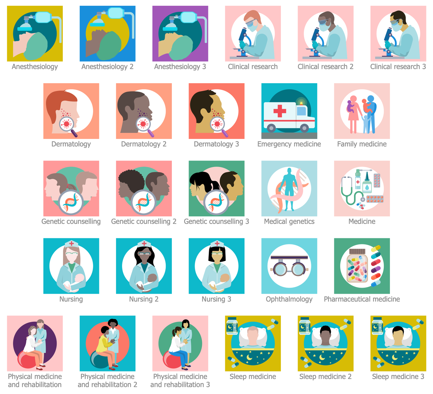 Design Elements — Other Medical Specialties