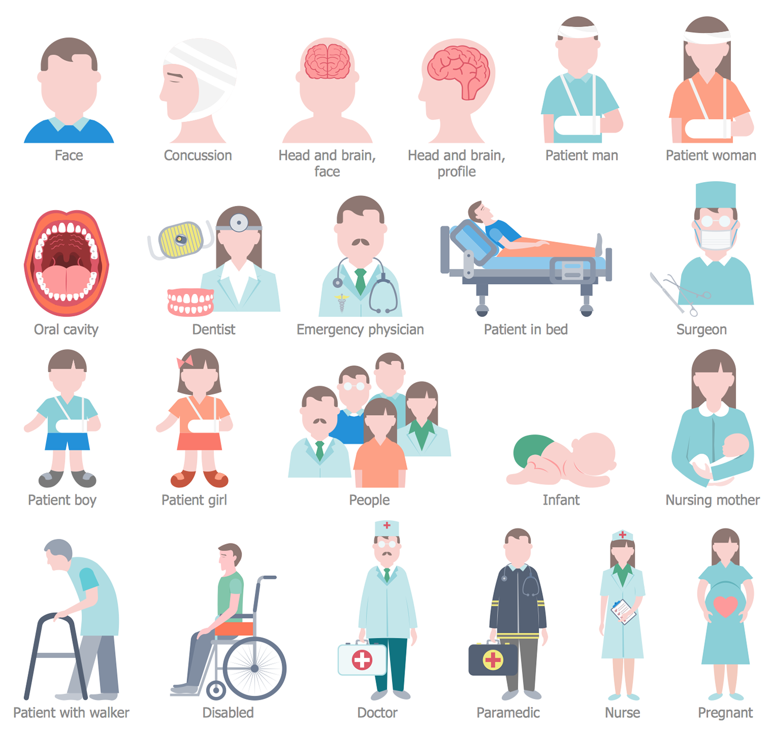 Design Elements — Healthcare People