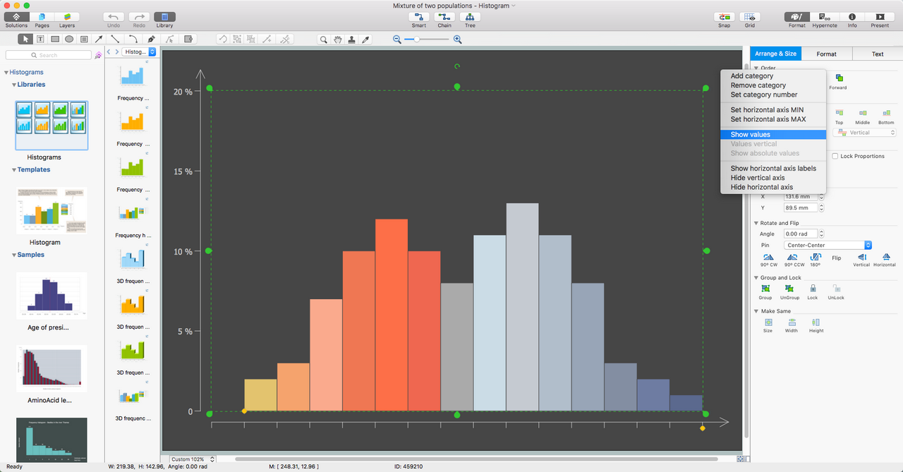 Histograms Solution for macOS X