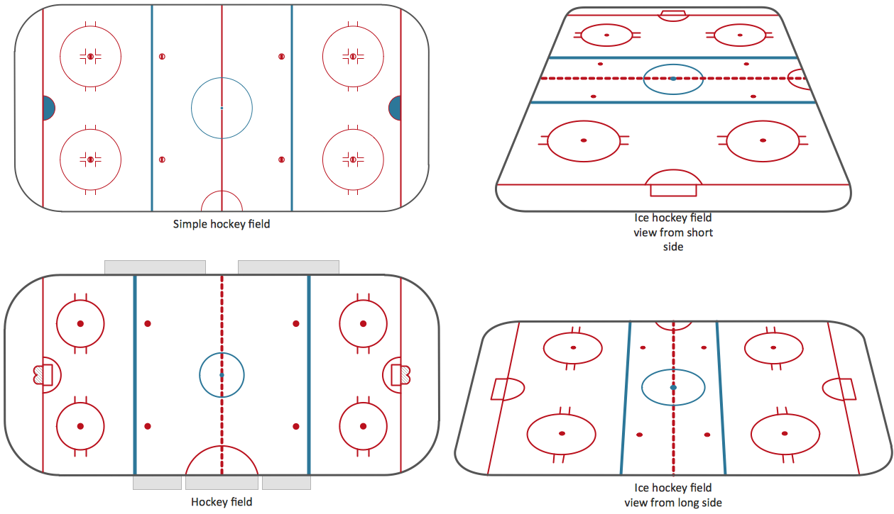 Design Elements — Ice Hockey Rinks
