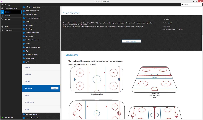 Ice Hockey solution - Install