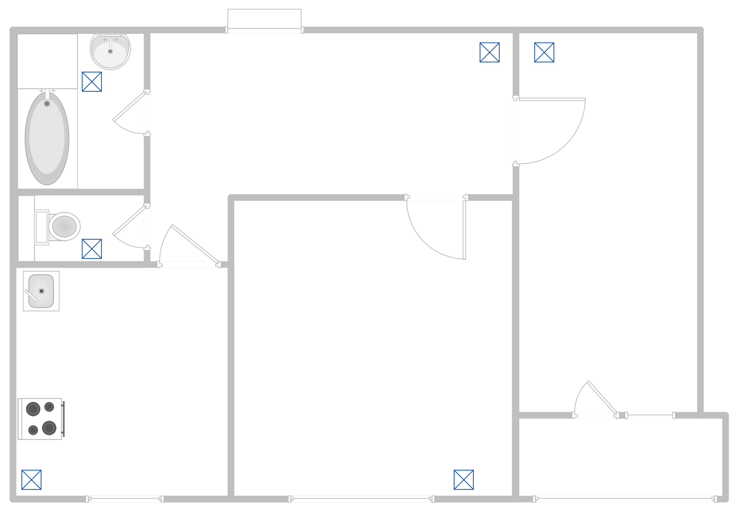Hvac Plans Solution Drawing Tools Apartment Plan