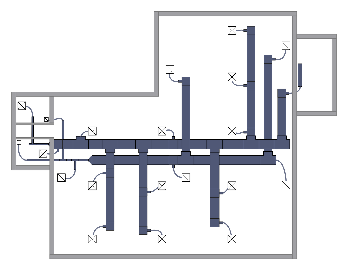 Hvac Plans Solution Conceptdraw Com