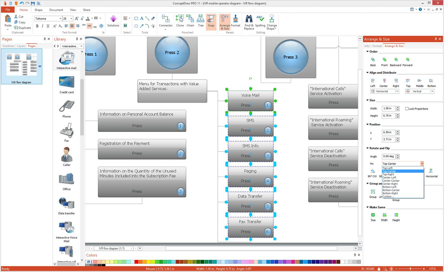 Interactive Voice Response Diagrams Solution for Microsoft Windows