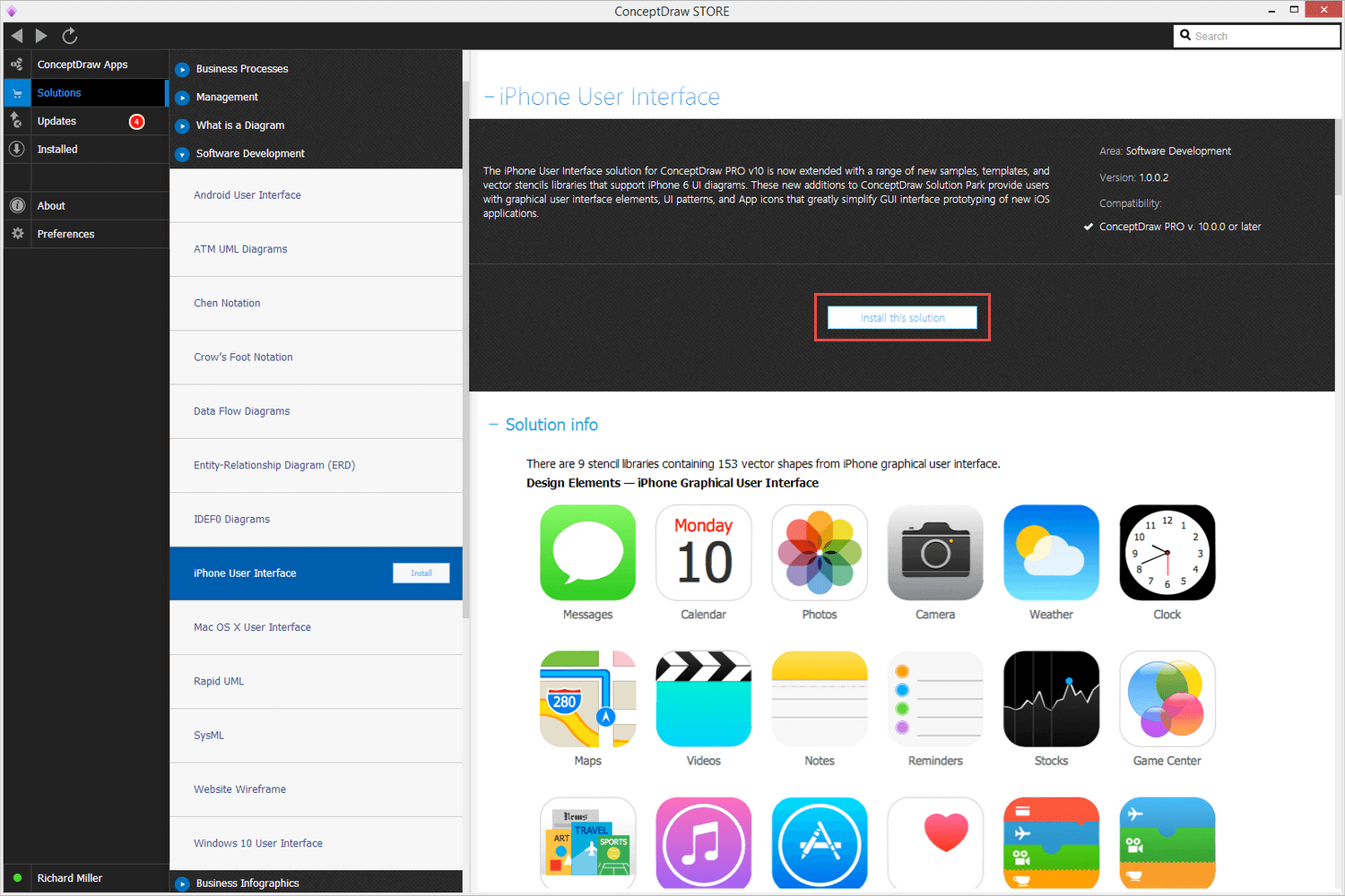 iPhone User Interface Solution - Install