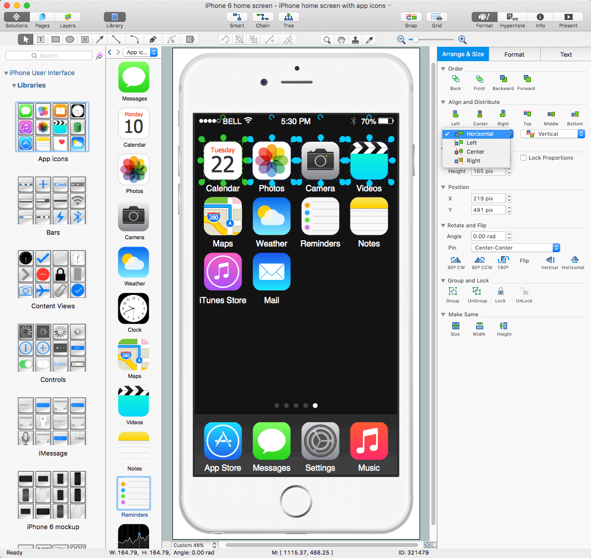 iPhone User Interface Solution for macOS