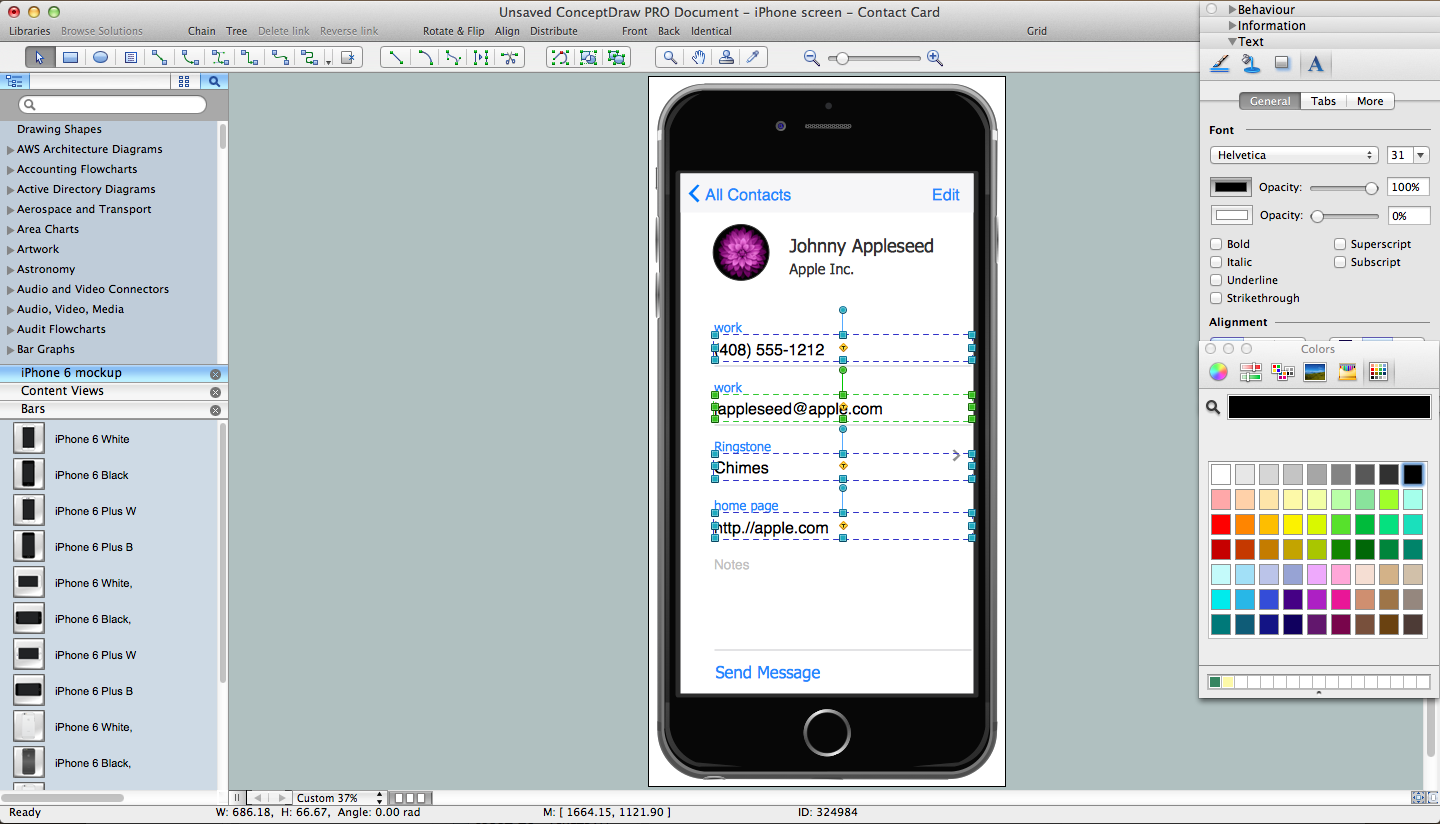 iPhone User Interface Solution for Macintosh