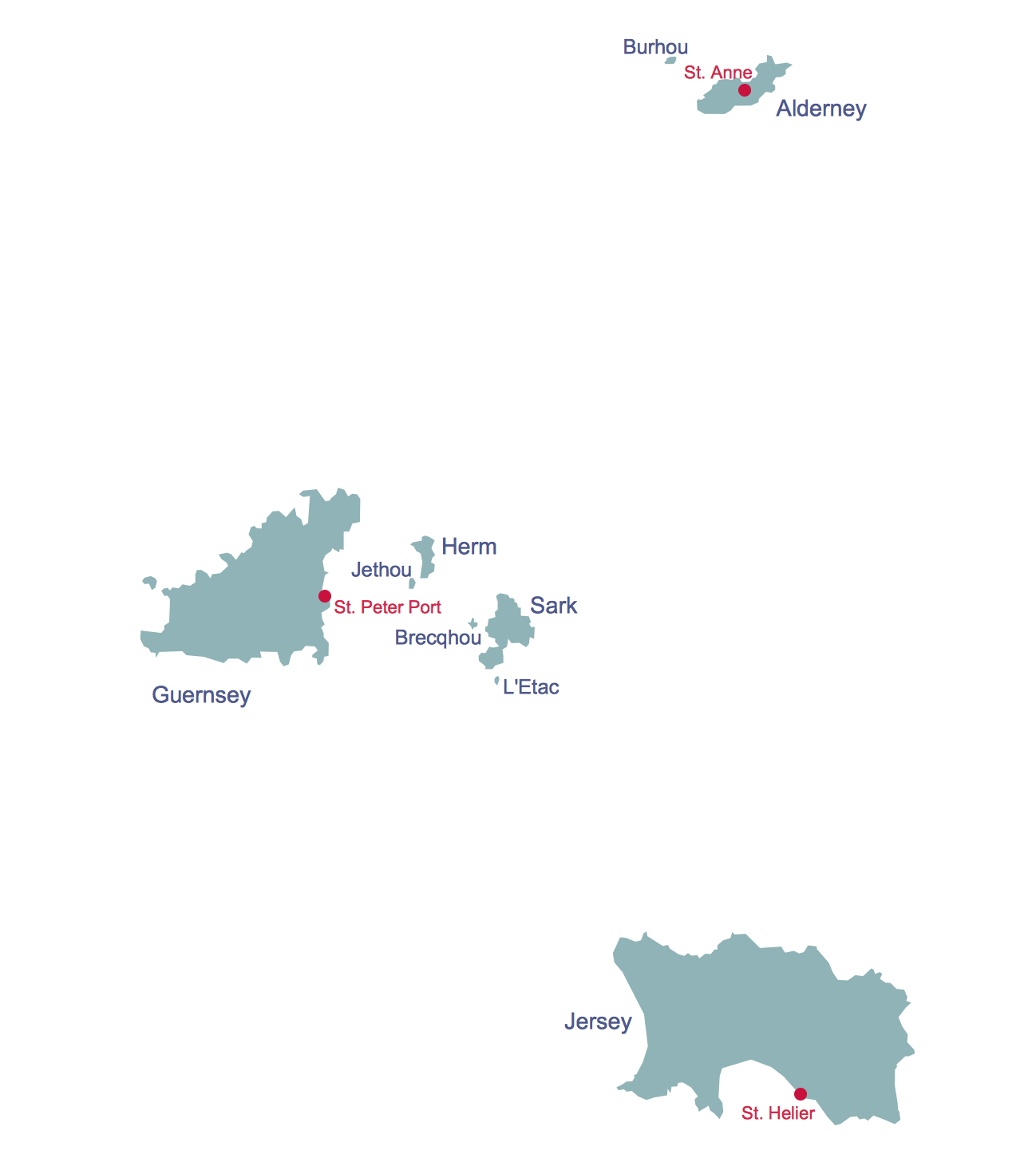 Map Of Uk Including Jersey.Map Uk Solution Conceptdraw Com