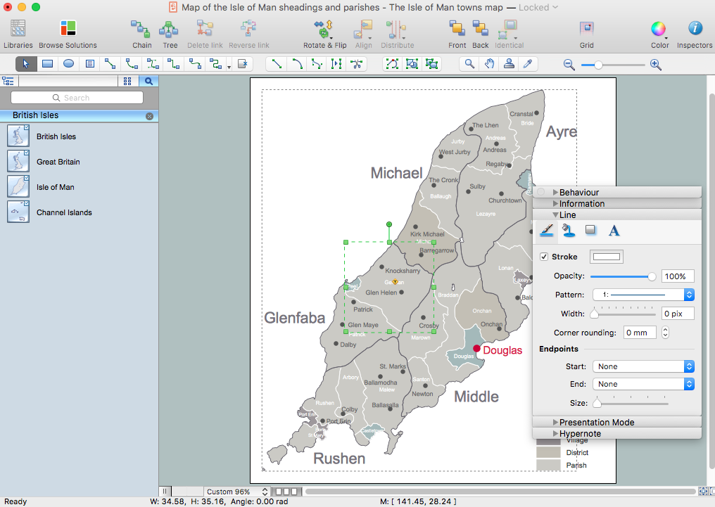United Kingdom Map Solution for Apple OS X