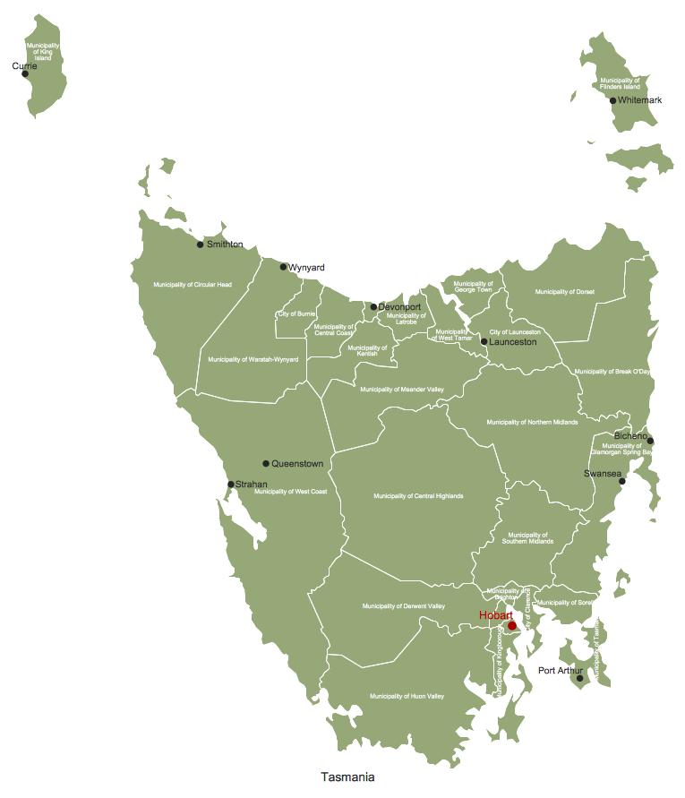 Design Elements — Tasmania