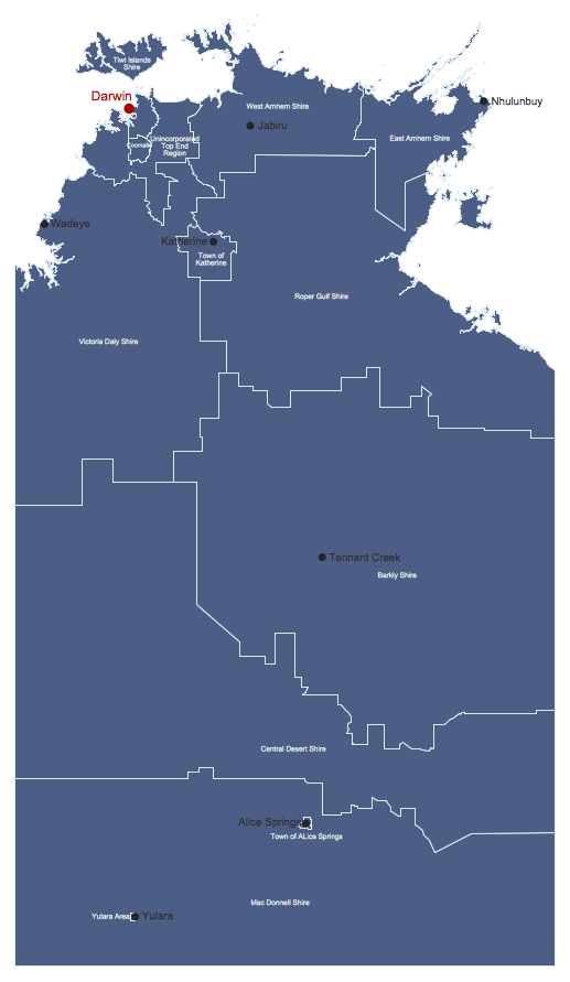 Australia Map Solution ConceptDrawcom