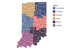 INDOT Districts Map