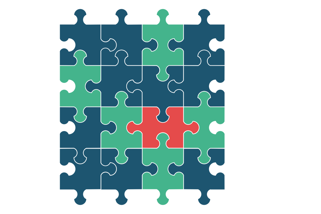 Diagram – Puzzle Piece Diagram (Alternating Sign Matrix)