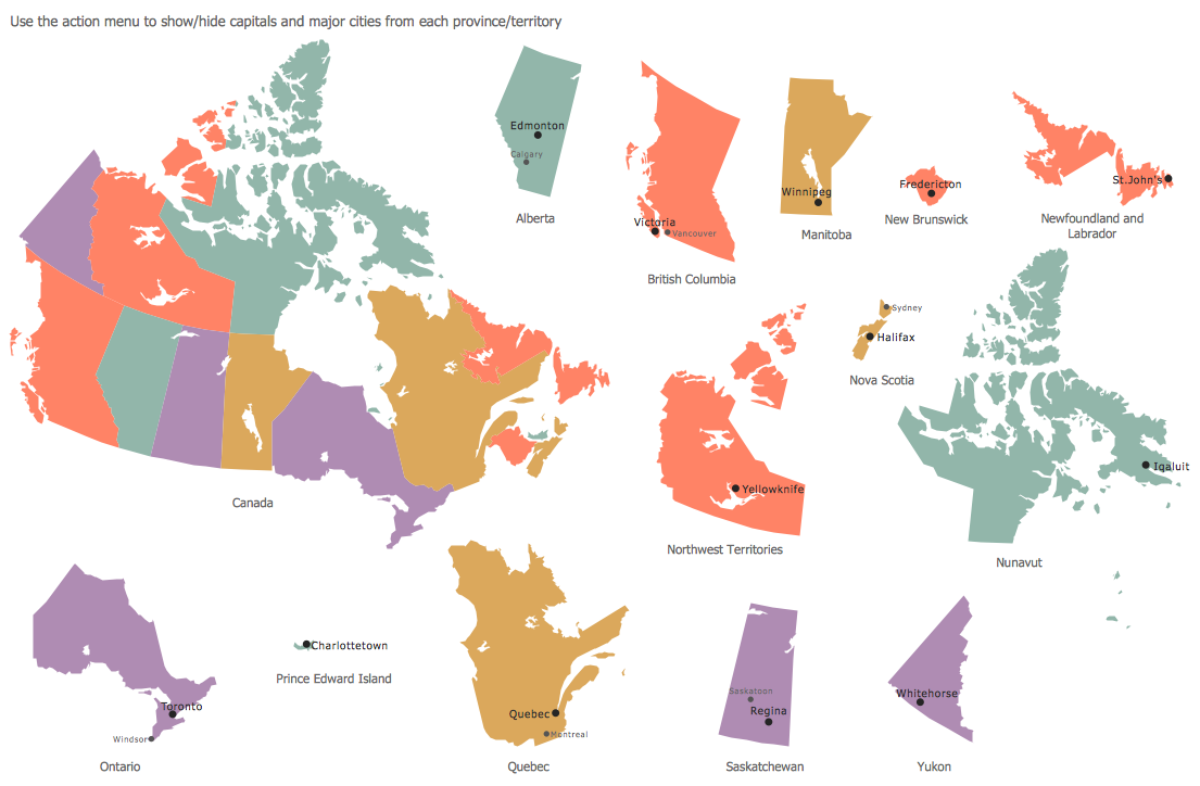 Design Elements — Marketing Map Canada