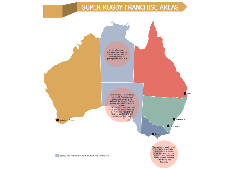 Super Rugby Franchise Areas