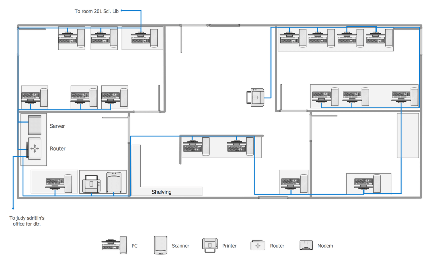 network layout floor plans solution | conceptdraw.com  conceptdraw.com