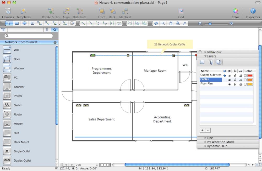 Inside for Floor plan diagram software