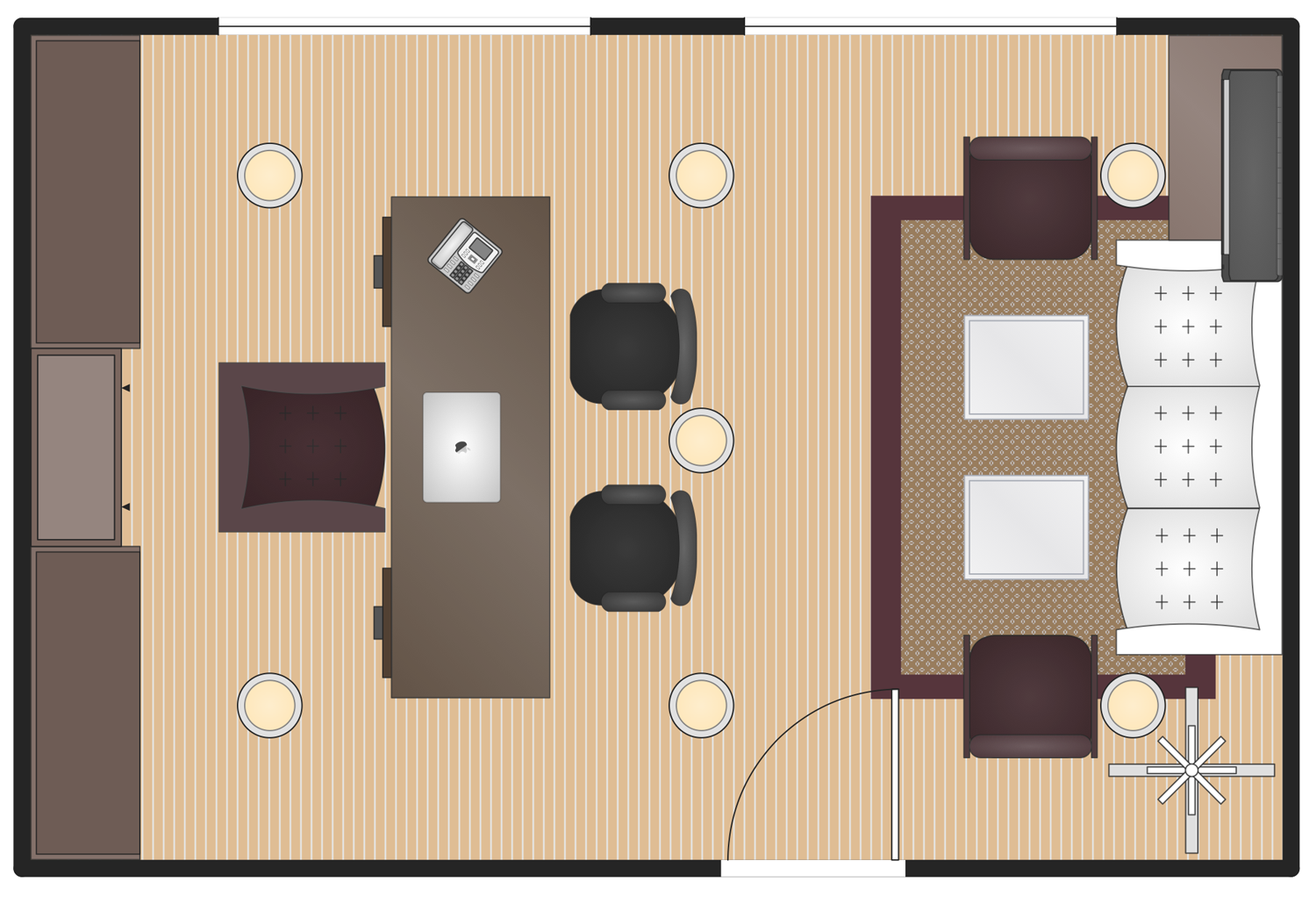 Building Plans Office Layout Plans Executive Office Plan on Lighting Diagram