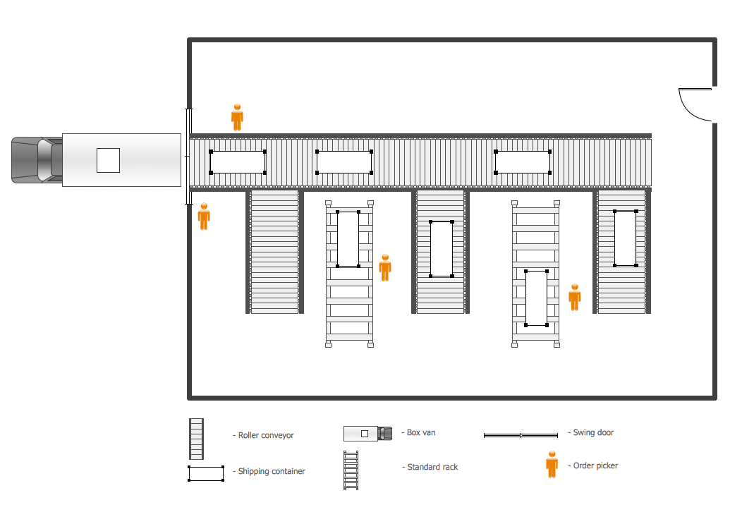 Plant layout plans solution for Warehouse house plans
