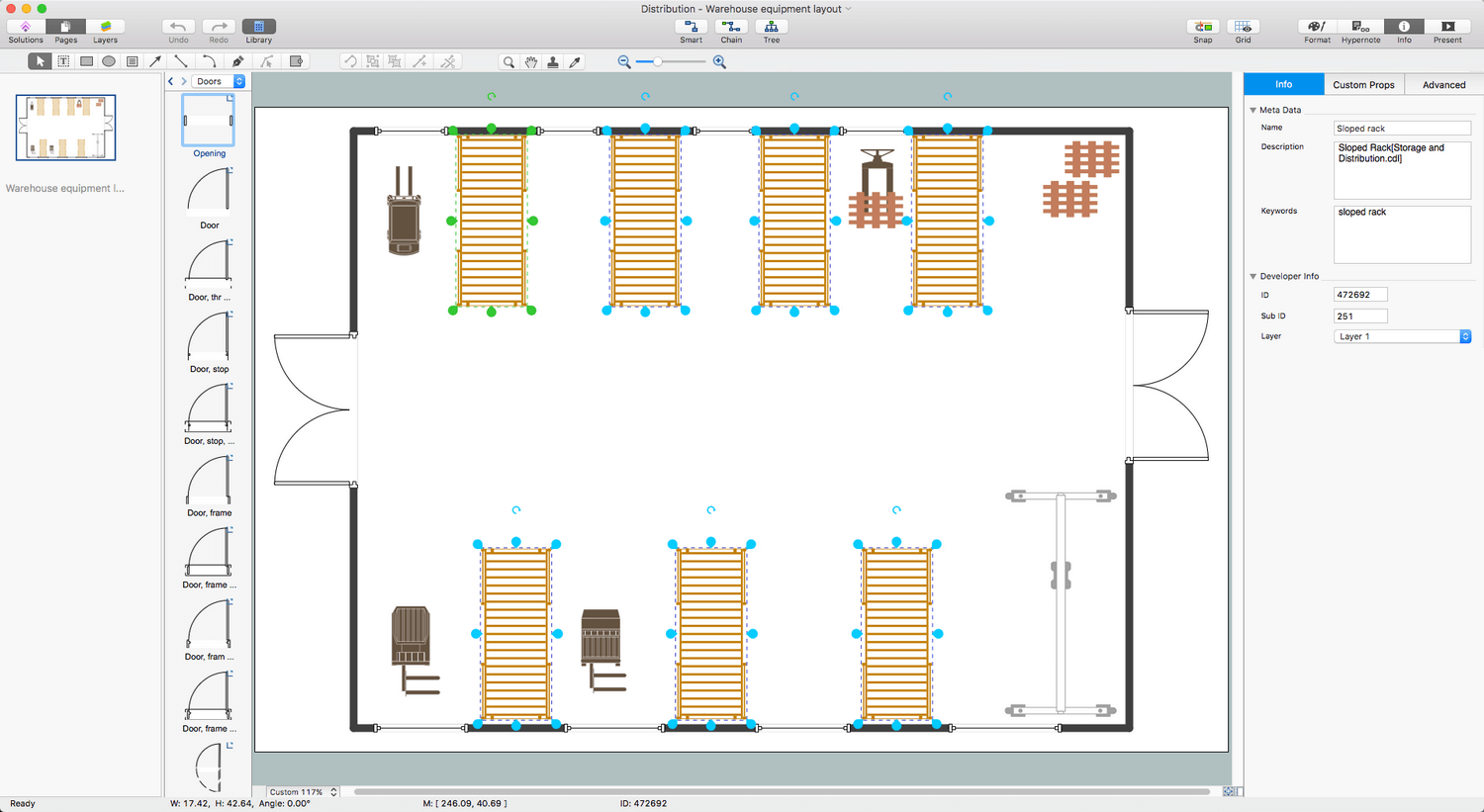 Plant Layout Plans Solution Conceptdraw Com