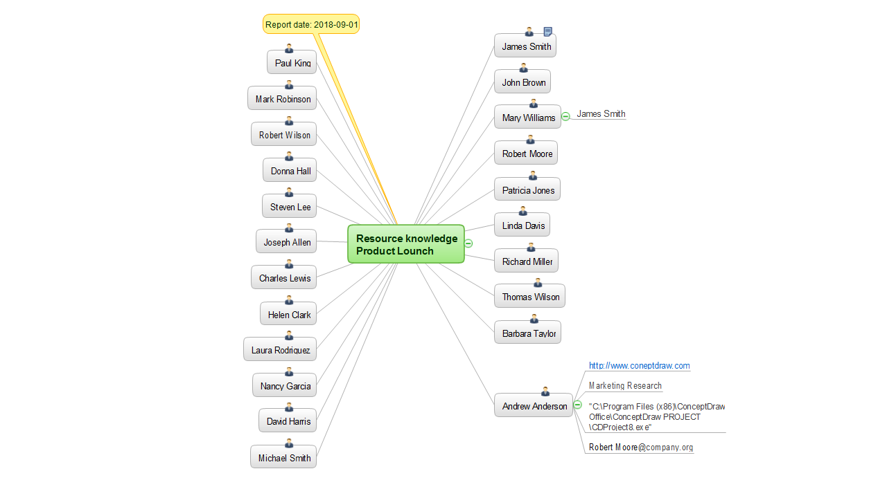 MINDMAP Report — Resource Knowledge