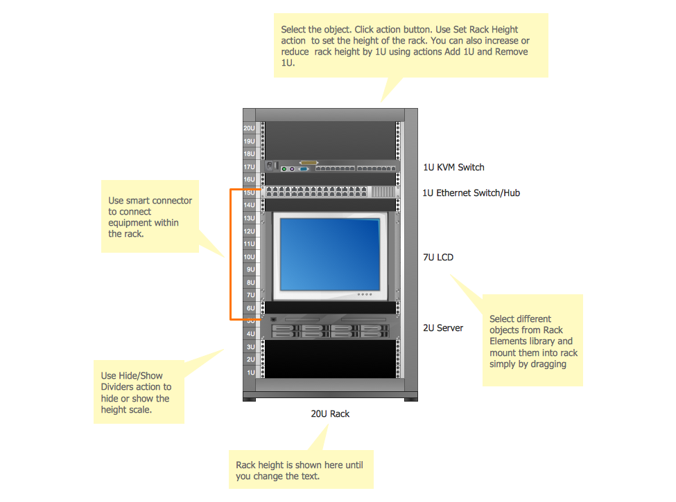 Rack Diagram Template
