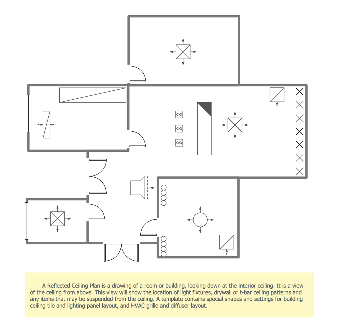Reflected Ceiling Plan Template