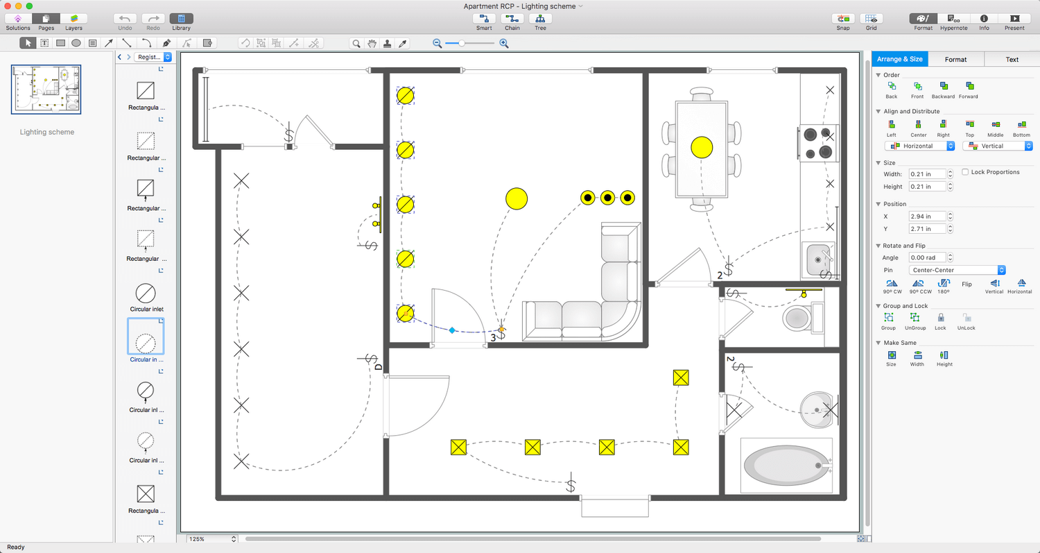 Reflected Ceiling Plans Solution for Apple macOS