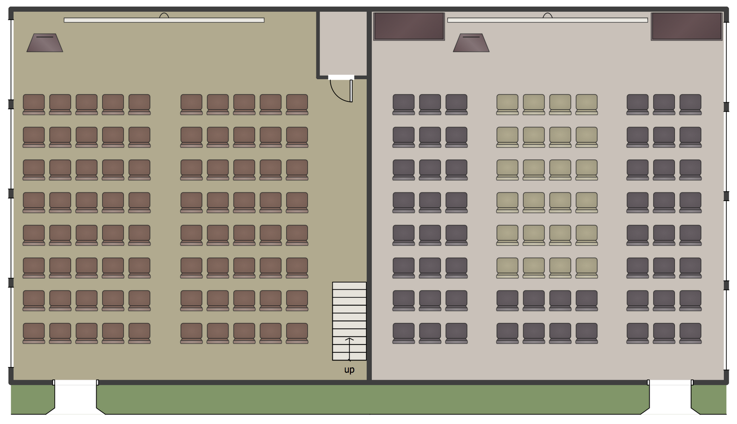 Lecture Center Plan