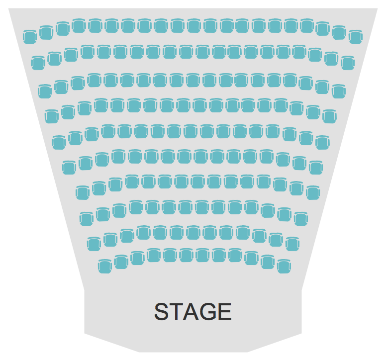 Cinema Theater Seating Plan