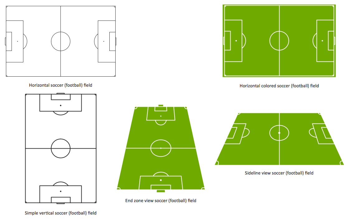 Soccer Solution Conceptdraw Com