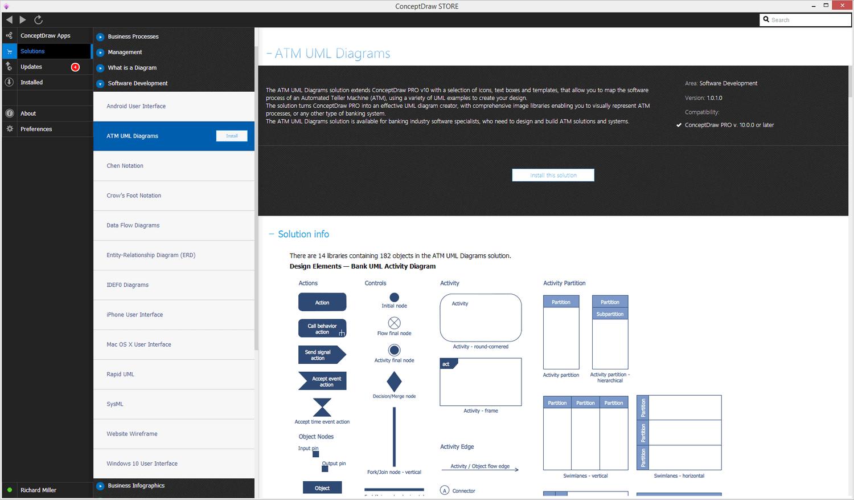 ATM UML Diagrams Solution - Install