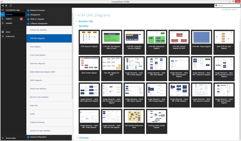 ATM UML Diagrams Solution - Start Using
