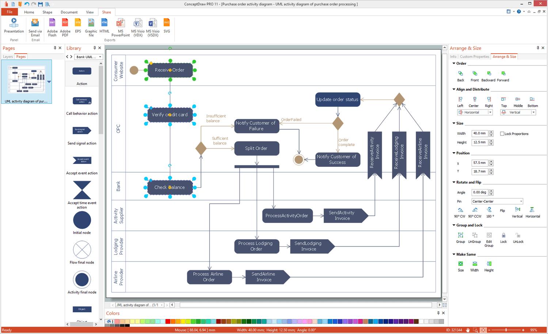 ATM UML Diagrams Solution for Microsoft Windows