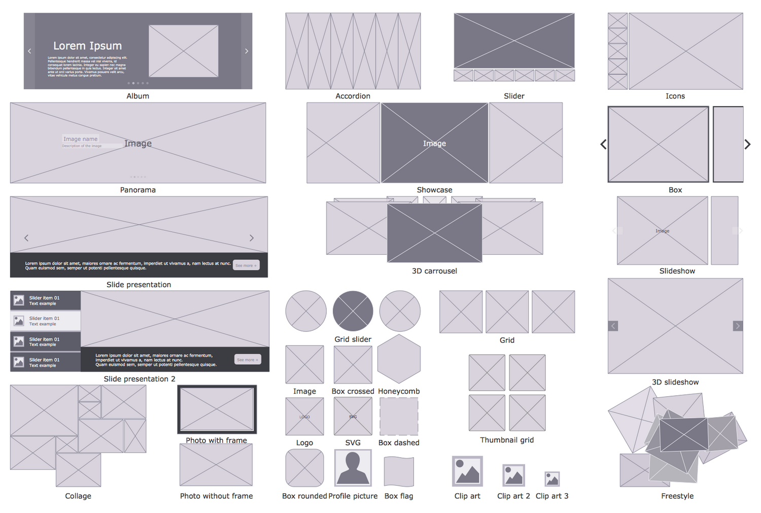 Design Elements — Image Placeholders