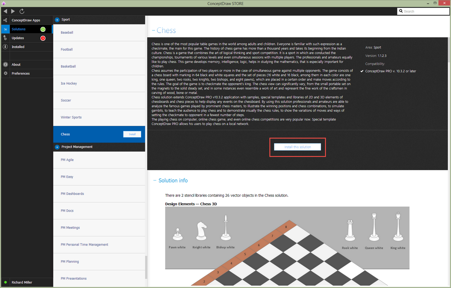 Chess Solution - Install