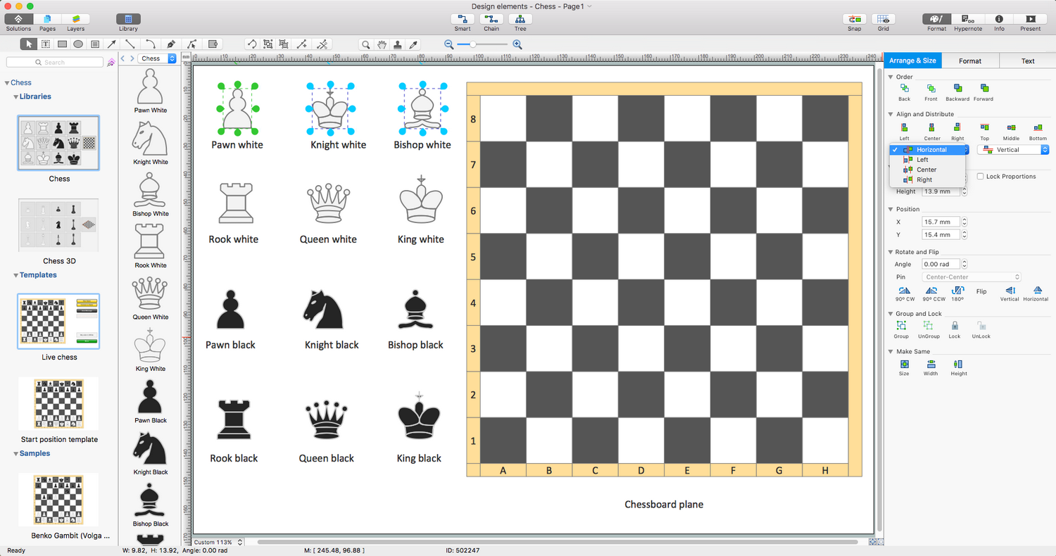 Chess Solution for macOS