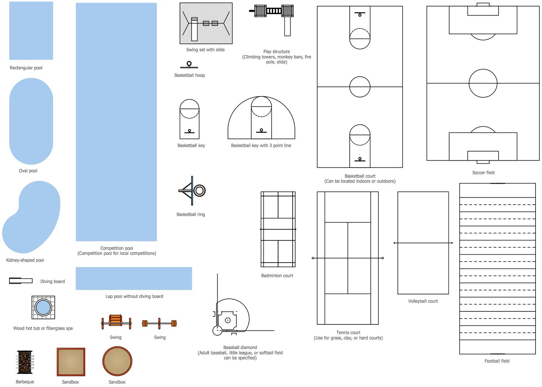 Athletic Complex Diagrams - Block And Schematic Diagrams •