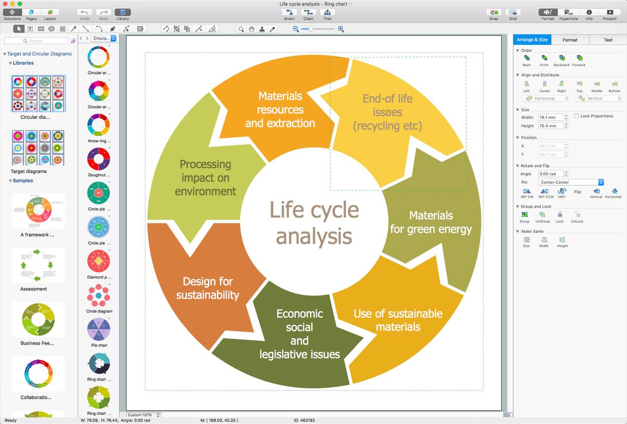 Diagram Target And Circular Diagrams Solution