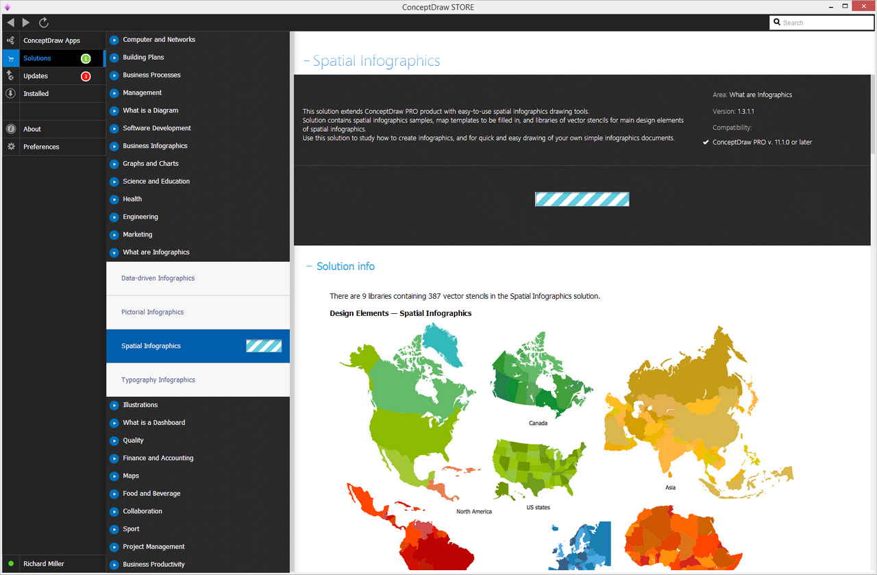 Spatial Infographics solution - Install