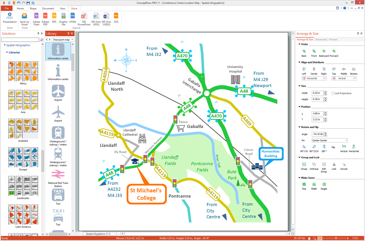 Spatial Infographics solution for Microsoft Windows