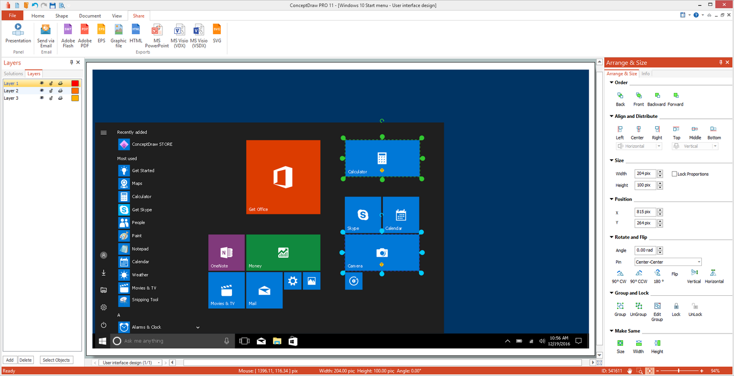 Windows 10 User Interface Solution For Microsoft Windows