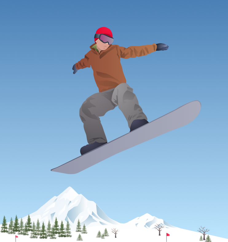 Winter Sports Solution | ConceptDraw.com