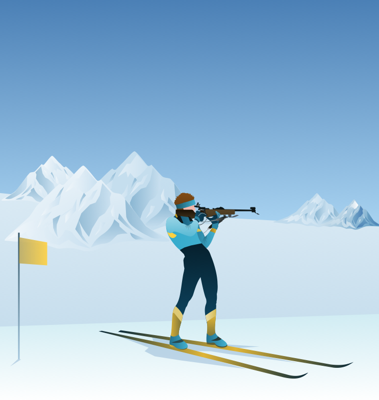 Winter Olympics — Biathlon