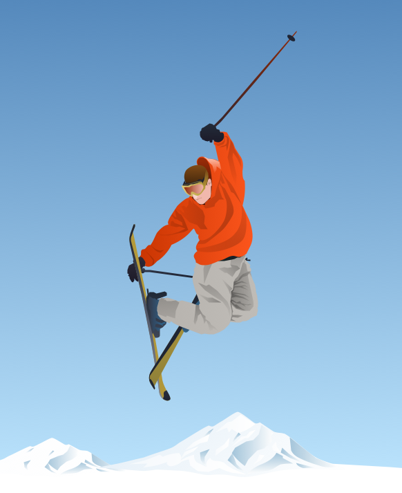 Winter Olympics — Freestyle Skiing