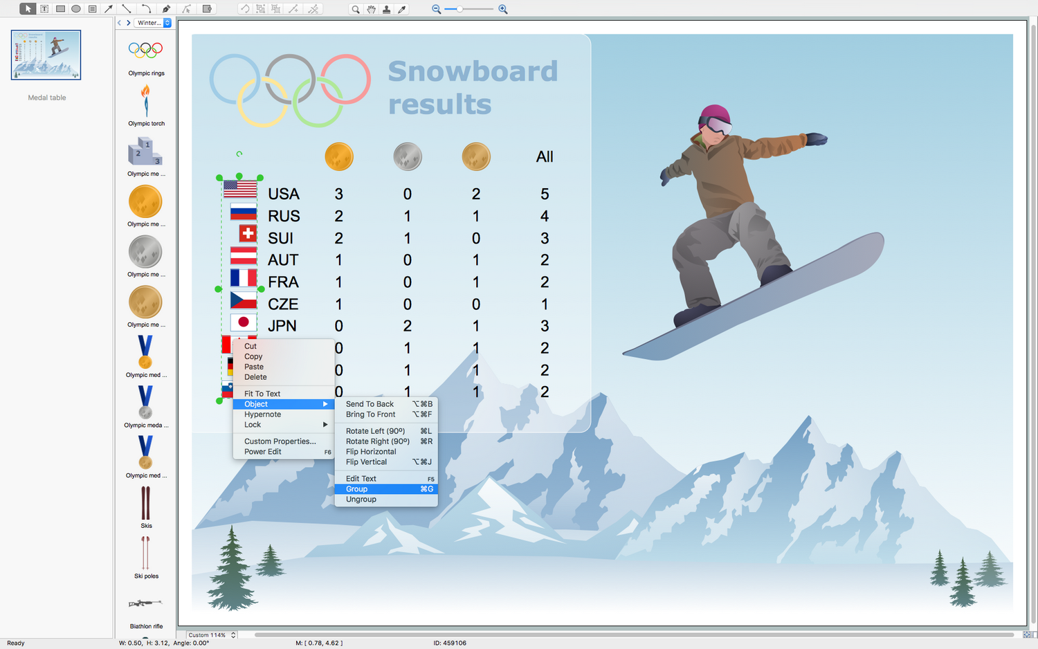 Winter Sports Solution for macOS